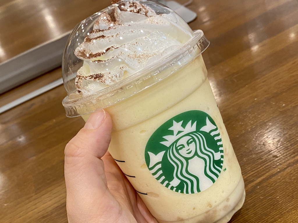 コーヒーティラミスフラペチーノ